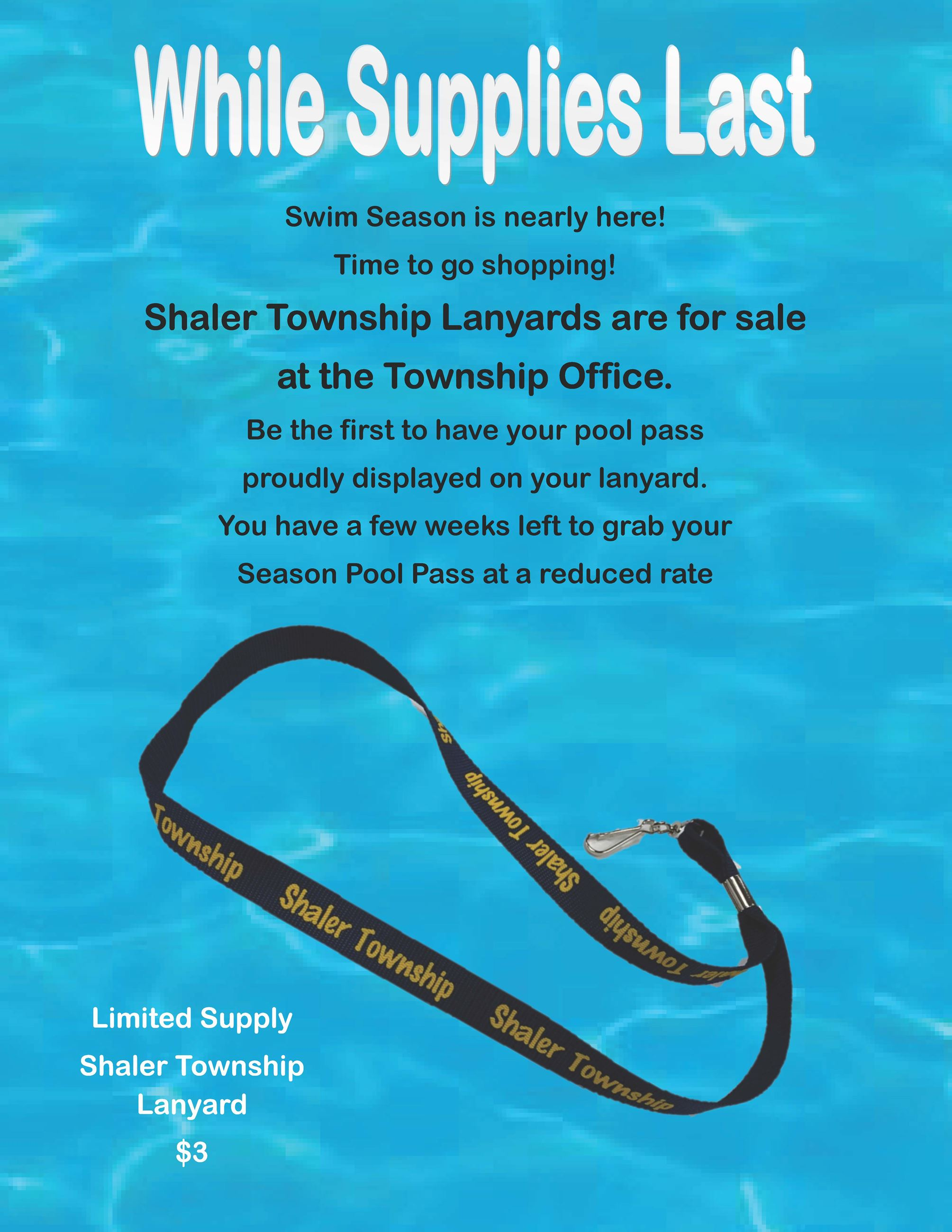 Lanyard Sales Flyer