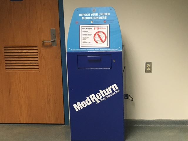 2016 Prescription Drug Take Back Box 2