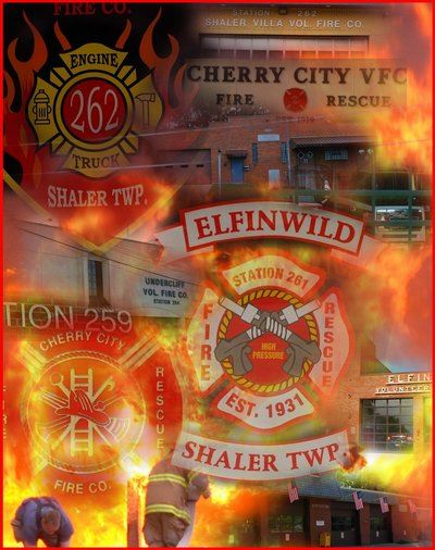 Fire Company Collage