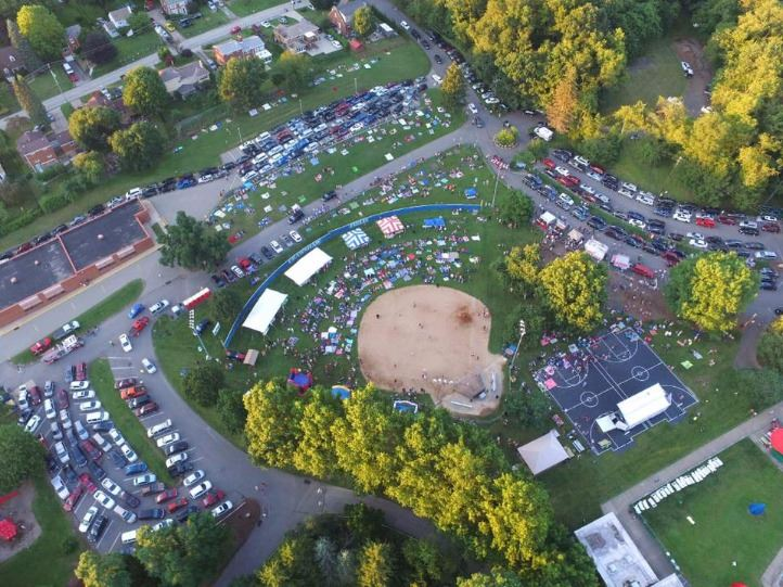 Kiwanis Park - Aerial photo 7-4-17
